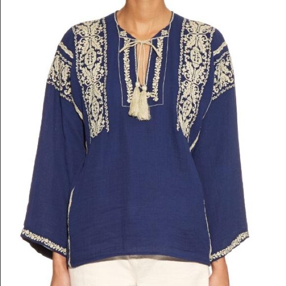 5c466b361bc261 Isabel Marant etiole ethnic blouse. Size 36. M_5bda3962a5d7c624da94d2a8